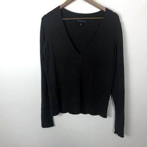 Banana Republic Brown Sweater Silk Cashmere
